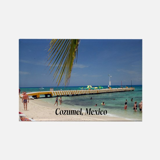 Cozumel Mexico Rectangle Magnet