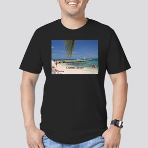 Cozumel Mexico Men's Fitted T-Shirt (dark)