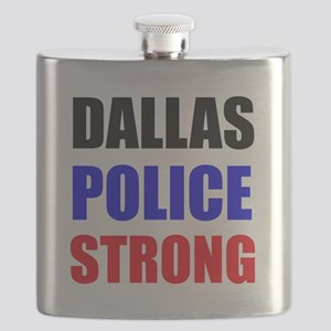 Dallas Police Strong Flask