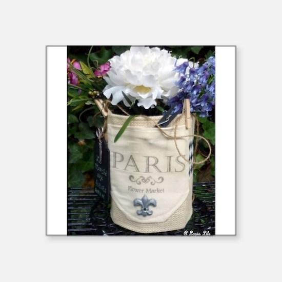 Paris Flower Market Sticker