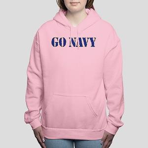 Go Navy Women's Hooded Sweatshirt
