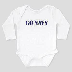 Go Navy Body Suit