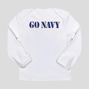 Go Navy Long Sleeve T-Shirt