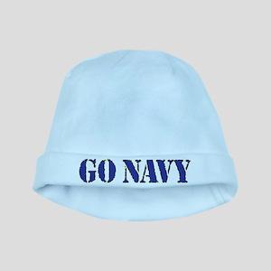 Go Navy baby hat