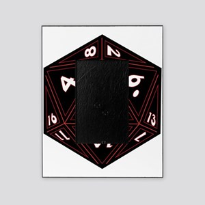 D20 Black with Red Trim Picture Frame