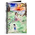 'happy Girl' Fantasy Journal