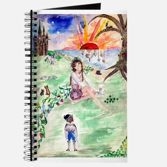 'happy Girl' Fantasy Journal