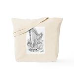 Practice Room/ Jazz Cats Tote Bag