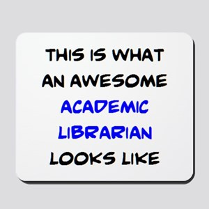 awesome academic librarian Mousepad