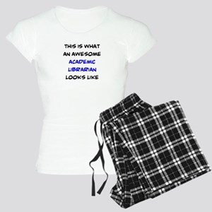 awesome academic librarian Women's Light Pajamas