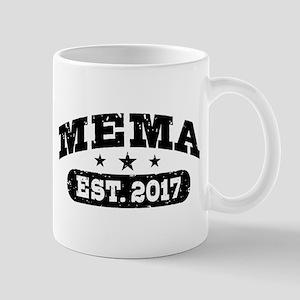 Mema Est. 2017 Mug