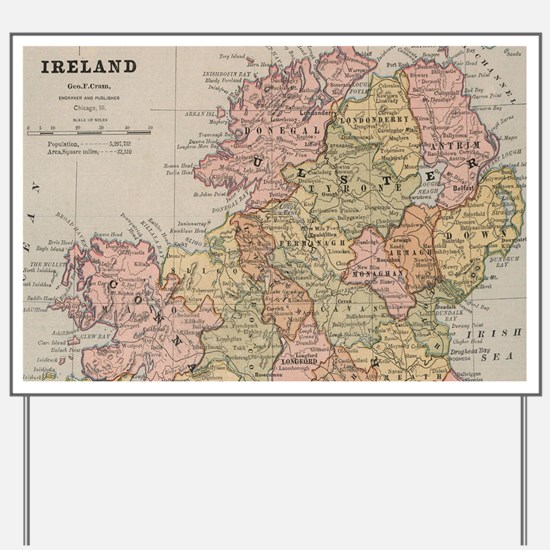Funny Irish history Yard Sign