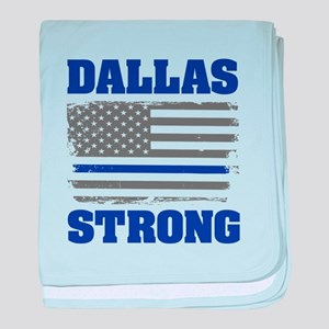 Dallas Strong baby blanket
