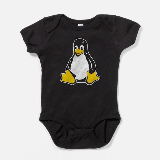 linux tux Baby Bodysuit
