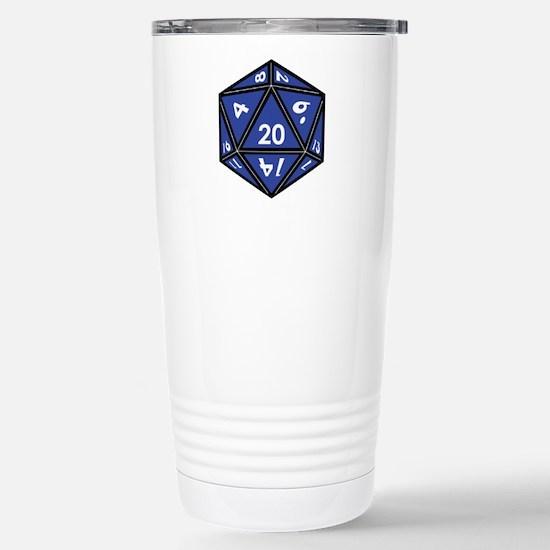 Cute D20 Travel Mug