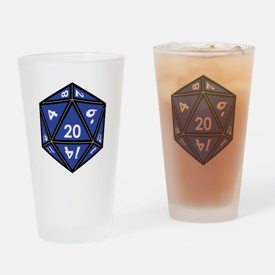 Role playing Drinking Glass