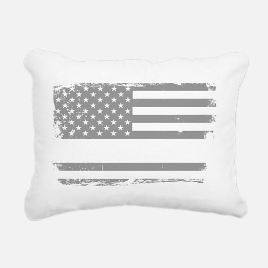 Unique Line Rectangular Canvas Pillow