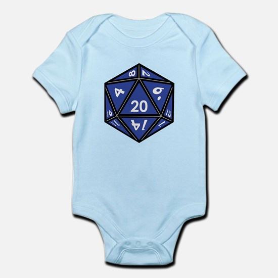 Cute Roll dice Baby Light Bodysuit