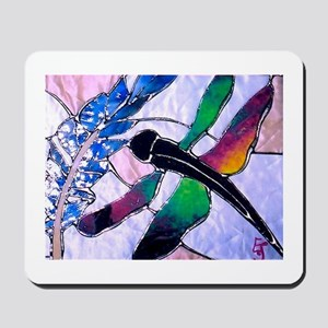 Glass Dragonfly Mousepad