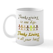 Thanks Living Mug