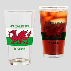 St Davids Drinking Glass