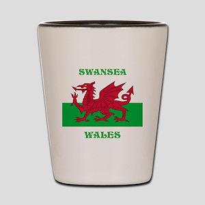 Swansea Wales Shot Glass