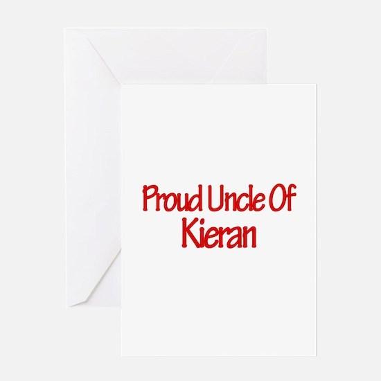 Proud Uncle of Kieran Greeting Card