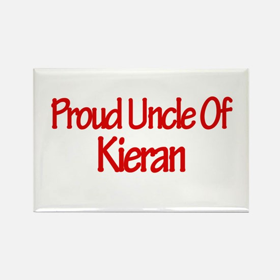 Proud Uncle of Kieran Rectangle Magnet