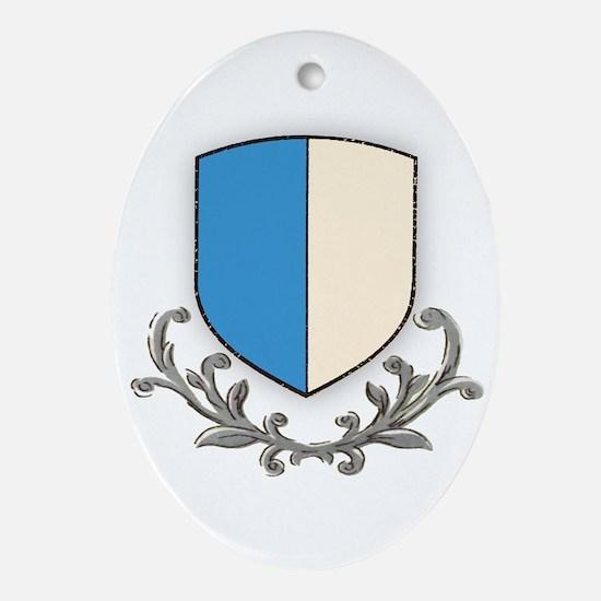 Canton Luzern Oval Ornament