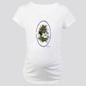 1 Corinthians 1:18 Maternity T-Shirt