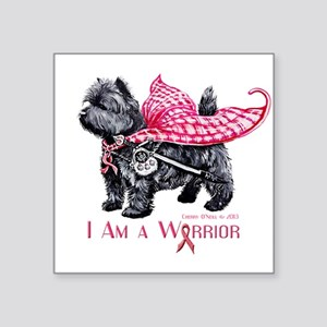 Carin Cancer Warrior Sticker