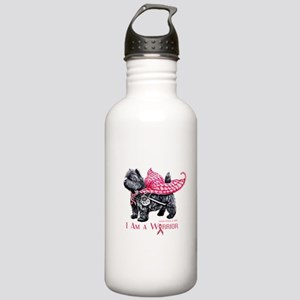 Carin Cancer Warrior Water Bottle