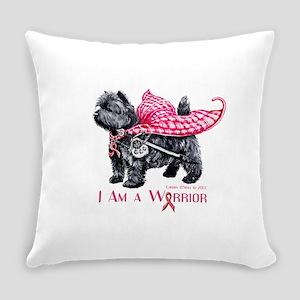 Carin Cancer Warrior Everyday Pillow