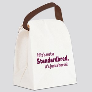 Standardbred horse Canvas Lunch Bag