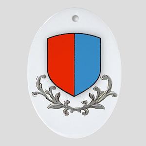 Canton Ticino Oval Ornament