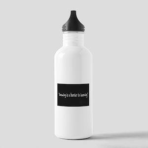 Chalkboard Message Stainless Water Bottle 1.0L