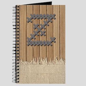 Cross Stitch Monogram Journal Z