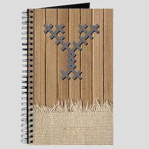 Cross Stitch Monogram Journal Y