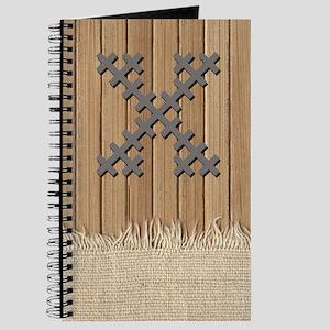 Cross Stitch Monogram Journal X