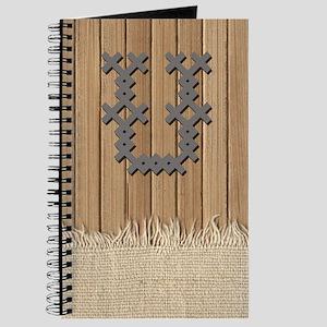 Cross Stitch Monogram Journal U