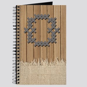 Cross Stitch Monogram Journal O