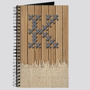 Cross Stitch Monogram Journal K