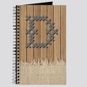 Cross Stitch Monogram Journal D
