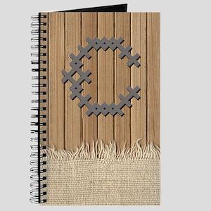 Cross Stitch Monogram Journal C