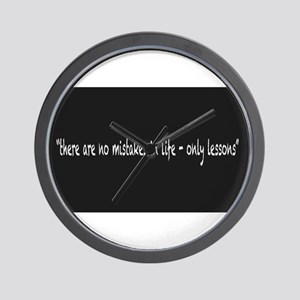 Only Lessons Wall Clock