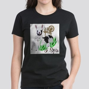 I Spin Ash Grey T-Shirt
