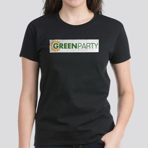 Green Party Logo (sunflower) Ash Grey T-Shirt