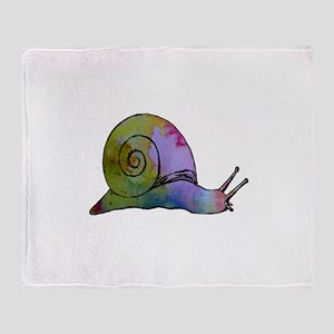 Snail Throw Blanket