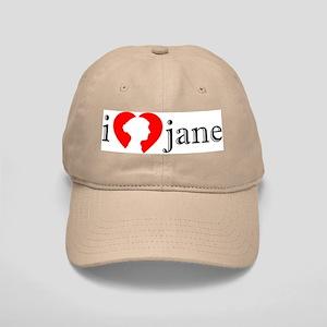 I Love Jane Silhouette Cap