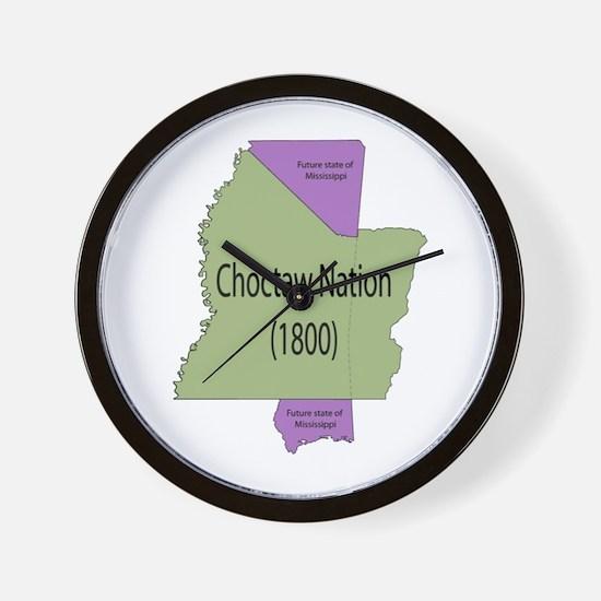 Choctaw Nation Wall Clock
